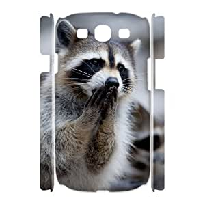 JFLIFE Raccoon Phone Case for samsung galaxy s3 3D Shell Phone [Pattern-1]