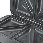 Prestige PSMFS 700-Watt Sandwich Toaster (Black/Silver)