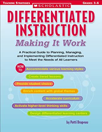 Amazon Differentiated Instruction Making It Work