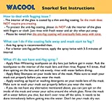 WACOOL Snorkeling Package Set for