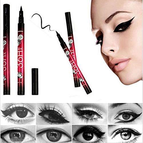 ️ Yu2d ❤️❤️ ️Black Eyeliner Waterproof Liquid Make