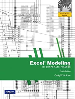 Excel Modeling in Corporate Finance: Amazon.co.uk: Craig W. Holden ...