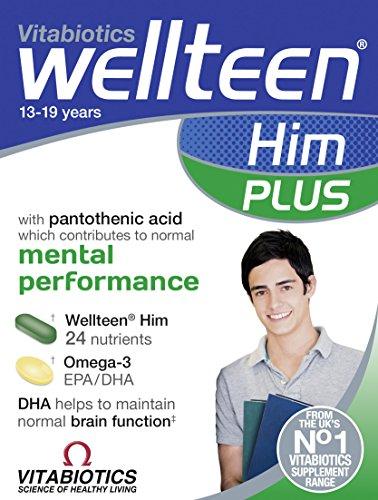 Vitabiotics Wellteen Him Plus – 56 Tablets/Capsules