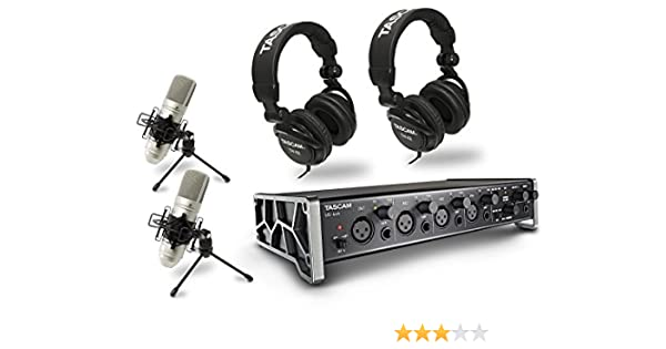 Tascam Trackpack 4x4 US-4X4TP - Kit de grabación: Amazon.es ...