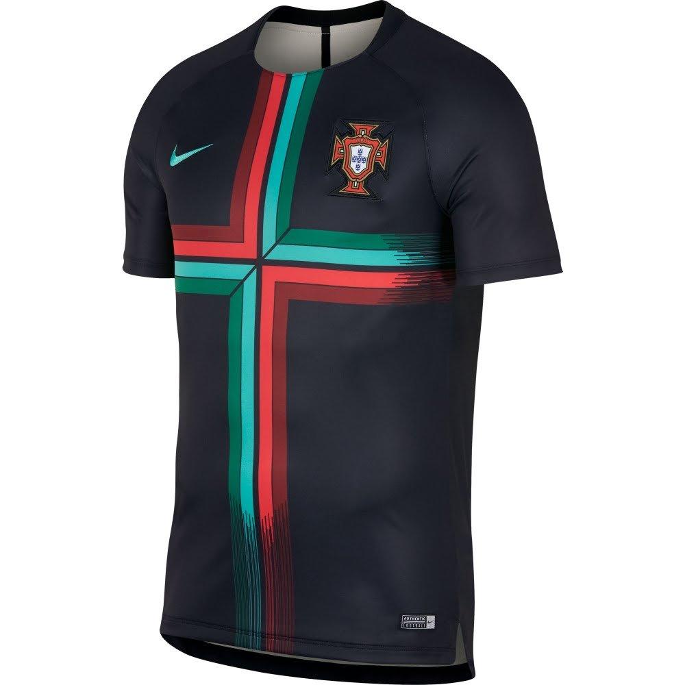 Nike Fpf Y Nk Dry Sqd Top Ss Gx 2 - schwarz Kinetic Grün