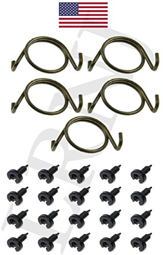 LAND ROVER DISCOVERY 1 1989-1998 DOOR LOCK LATCH REPAIR SPRINGS AND CLIPS SET X8R10