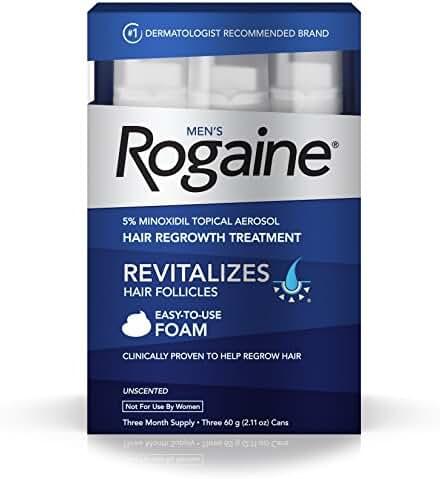 Men's Rogaine Foam, Three Month Supply