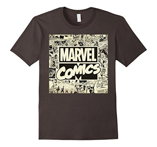 Marvel+Comics+Retro+Shirt Products : Marvel Classic Retro Comic Newspaper Print Graphic T-Shirt