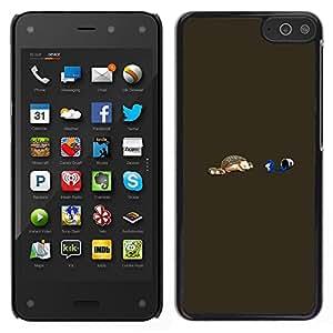 EJOY---Cubierta de la caja de protección la piel dura para el / Amazon Fire Phone / --Divertido erizo