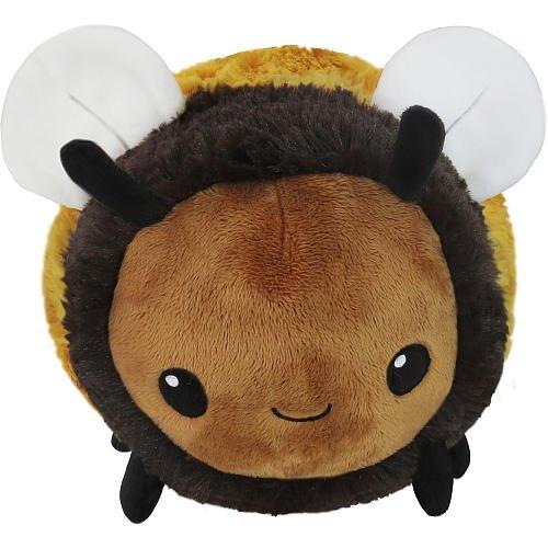 Squishable Fuzzy Bumblebee Plush, Yellow & Black, Mini 7