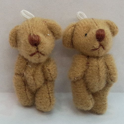 Brown Teddy Bear Little Stuffed Animals Diy Dolls Doll Birthday Gift Kids Toy Baby 4cm Tiny Soft Girls (Jasmine Halloween Diy)