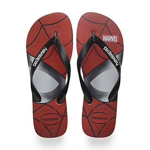 Havaianas 0090 Chanclas Para Top Marvel Unisex Adulto black E0ErqwR