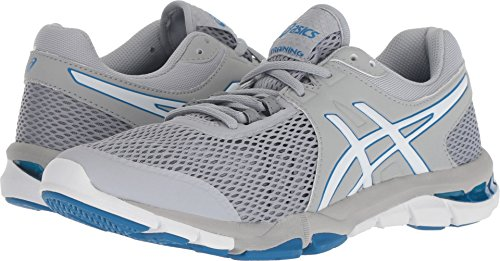 ASICS Women's Gel-Craze TR 4 Cross-Trainer Shoe (9.5 B(M) US, Mid Grey/White)