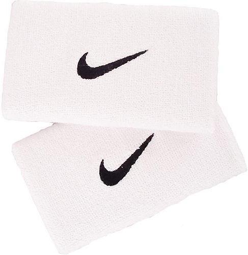 Nike Swoosh Double Wide Wrist Bands ac0010 101 Uomo Palestra per polso