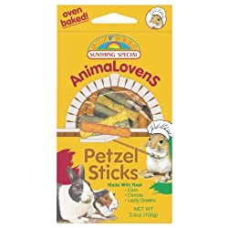 Animalovens Pretzel Sticks Food - Net Wt 3.5 OZ by Sunthing Special