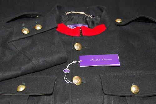 182c2f4ad Ralph Lauren Purple Label Men Military General Jacket Wool Italy ...