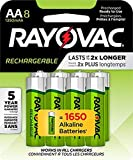 RAYOVAC AA 8-Pack Rechargeable Batteries, LD715-8OP Gene 2 Pack