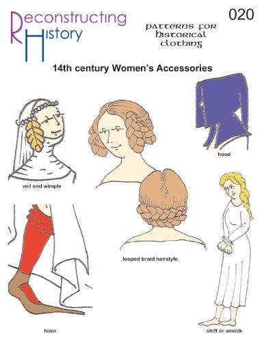 14th Century Women's Accessories Pattern -