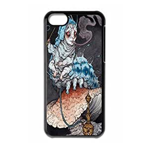 Dustin Absolem the Blue Caterpillar Art Print Cases for IPhone 5C, with Black