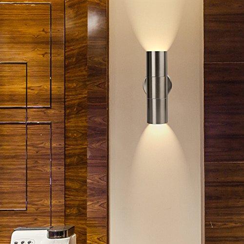 Light Fixtures Dubai: Geekeep Modern LED Wall Light Waterproof Up And Down