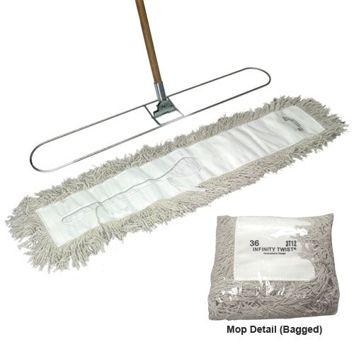 Classic Approach Mop Complete Set 5 inch X 36 inch by Classic