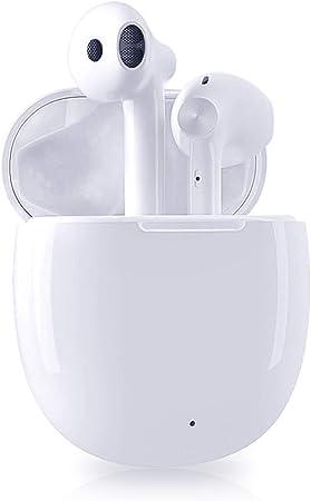 Auricolare Bluetooth 5.0 Senza Fili,Cuffie Wireless Stereo 3D with IPX5 Impermeabile,Accoppiamento Automatico Per Chiamate Binaurali,compatibile Per Samsung//iPhone//Android//Apple AirPods//Huawei