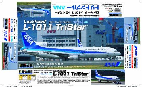 - 1/100 L-1011 Tristar ANA (Triton Blue) (Plastic model) by Doyusha