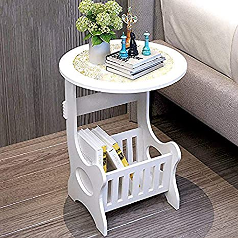 . Amazon com  Magazine Table Office Furniture Bedside End Table