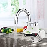 GGGarden Temperature Display Instant Fast Heat Water Heater Tankless Durable Electric Hot Faucet