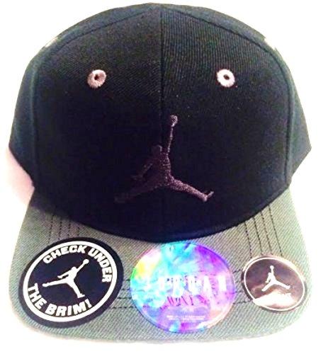 87b884d23767 NIKE Michael Jordan True Flycon Under The Brim Cap Sport Hat  (Black Anthracite Gray) Infant 12-24 Months - Buy Online in UAE.