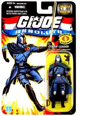 "G.I. JOE Hasbro 3 3/4"" Wave 13 Action Figure Cobra Commander"