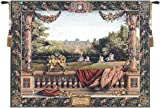 Tapestry, Extra Large, Wide - Elegant, Fine, French & Wall Hanging - Chateau Bellevue Royal Residences 9111, H58xW78