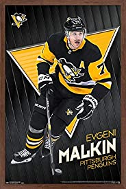 Trends International NHL Pittsburgh Penguins - Evgeni Malkin Wall Poster
