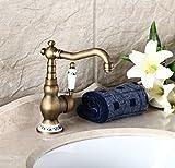 MDRW-European antique faucet, bathroom basin faucet