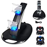 PS4 Controller Charger, DualShock 4 Charging Dock Station Stand for PlayStation 4 Controller