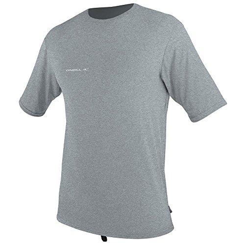 O'Neill Wetsuits Men's UV Sun Protection Hybrid Short Sleeve Surf Tee Sun Rash Guard