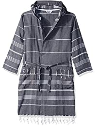 CACALA Pure Series Bathrobe, Kimono – 100% Natural Turkish Cotton Fabric – Ultra-Absorbent and Plush – Fast Drying, Comfortable and Warm – Unisex