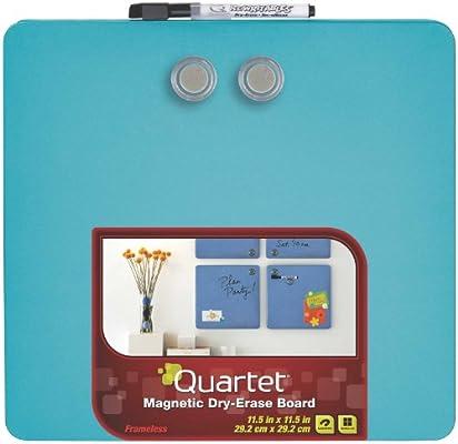 Amazon.com: Quartet Tin pizarras cuadradas magnéticas de ...