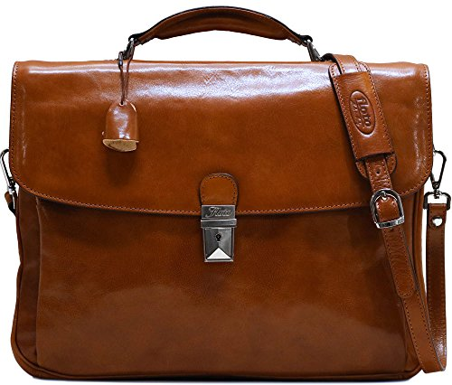 Firenze Laptop Briefcase by Floto
