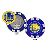 McArthur NBA Golden State Warriors Golf Poker Chip (with Removable Ball Marker)