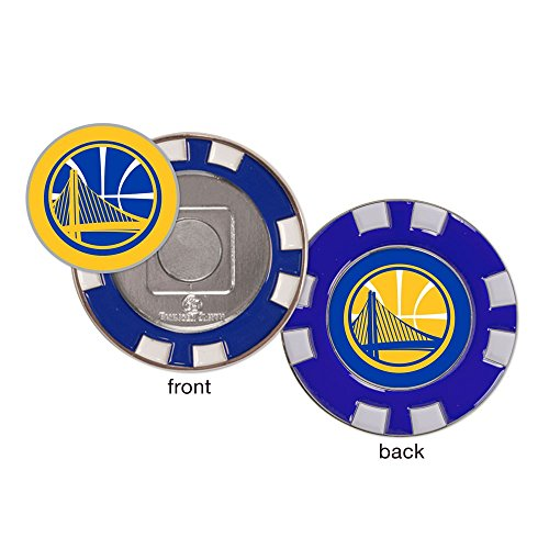 McArthur NBA Golden State Warriors Golf Poker Chip (with Removable Ball Marker) by McArthur
