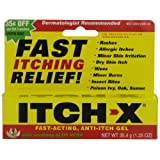 Health Life Itch-X Fast-Acting Anti-Itch Gel, 1.25-Ounce Tube (Pack of 4)