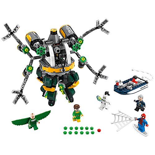 LEGO Marvel Super Heroes Spider-Man: Doc Ock's Tentacle Trap 76059 (Man Spider Web Marvel)