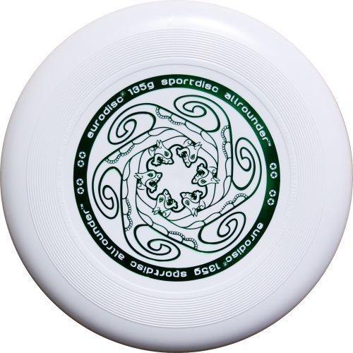 Eurodisc 135g Frisbee Frisbeach Junior//Childrens Ultimate White