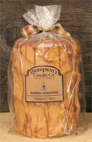 - Thompson's Candle Co Mulled Cider Pillar Candles Med.