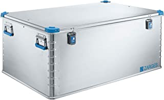 Relags Zarges Euro Caja, Plata, 415L 415L RELGV|#Relags 407090