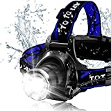 Headlamp, Super Bright LED Headlamps 18650 USB