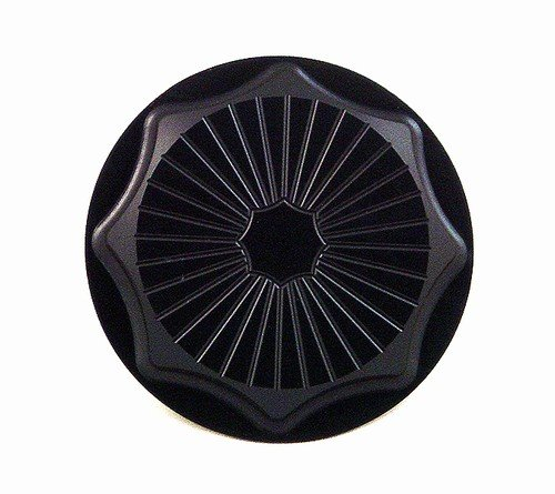 YANA SHIKI YANASHIKI - Gas Cap Anodized Black 4 Bolt Bracket SUZUKI Sport Bikes Product code A3661BL by Yana Shiki