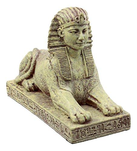 (Ebros Gift Ancient Egyptian Guardian Sphinx Figurine 4.25