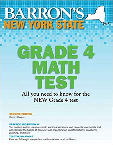 Descargar gratis New York State Grade 4 Math Test PDF